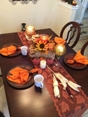 modernize fall table